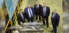 Delegation from Unified Rocket and Space Corporation visits TsAGI