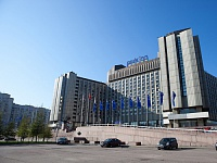 ICAS 2014 Congress location is the Pribaltiyskaya Hotel of Park Inn by Radisson in St. Petersburg