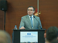 Sergey Chernyshev, acting general director of FSUE TsAGI, spoke at the forum's opening.
