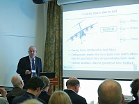 At sectional meetings forum participants from various countries presented results of structural aeroelasticity and dynamics studies.