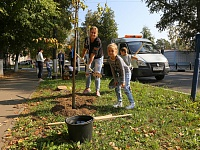 TsAGI employees participate annually in the Gardening Marathon