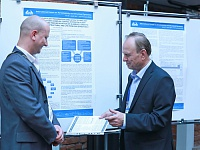 In addition, scientists presented their poster reports on the forum.