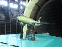 Aircraft SSJ-100 model tests in wind tunnel T-104.